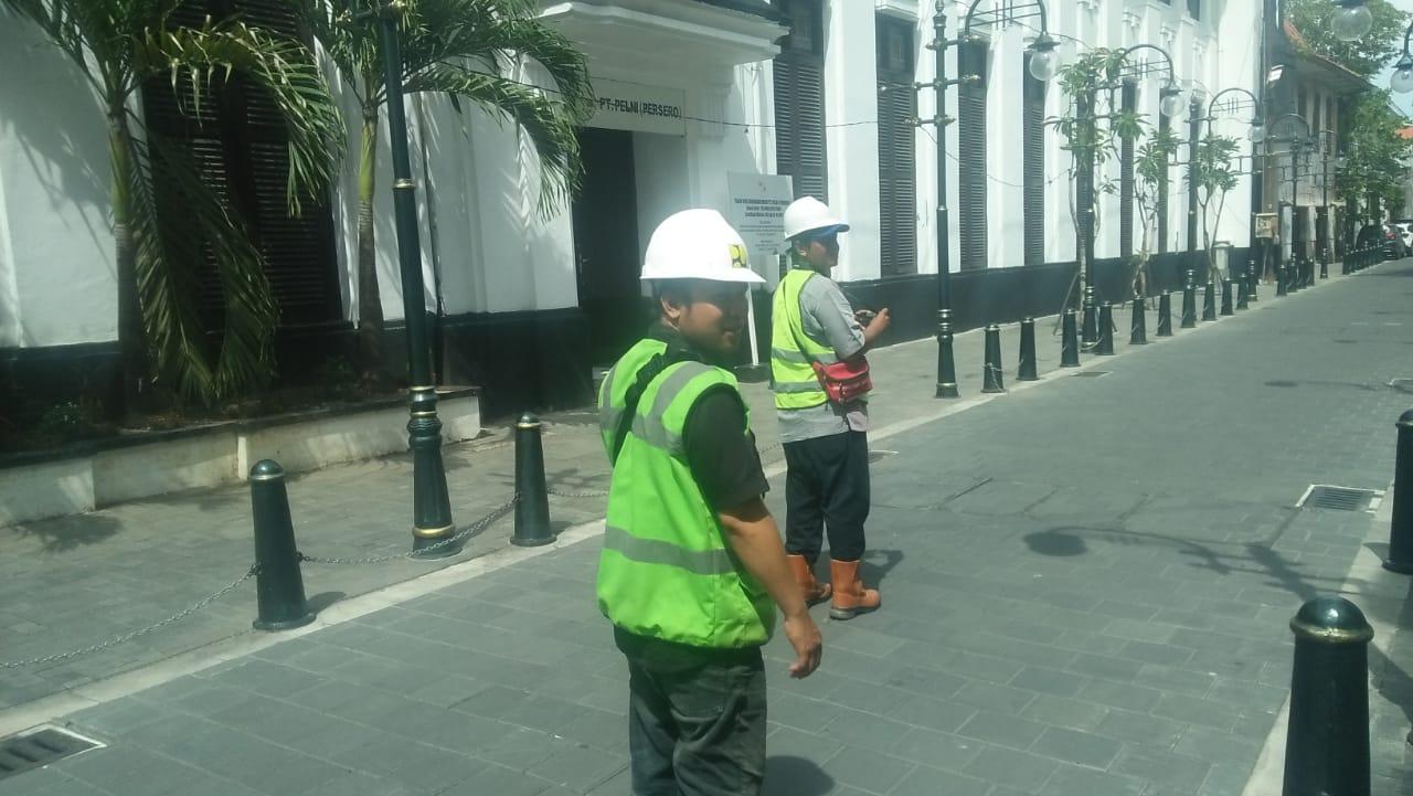 Manajemen Konstruksi Penataan Kawasan Kota Lama Semarang