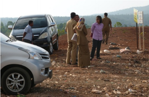 Bantuan Teknis Pendampingan Operasional Tempat Pembuangan Akhir (TPA) Sampah,