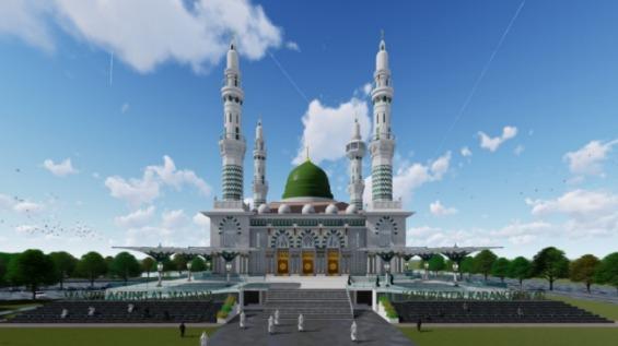 Belanja Konsultan Perencanaan Kegiatan Pembangunan Masjid Agung Karanganyar