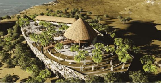 DED Rest Area dan Rumah Souvenir Kawasan Puncak Waringin