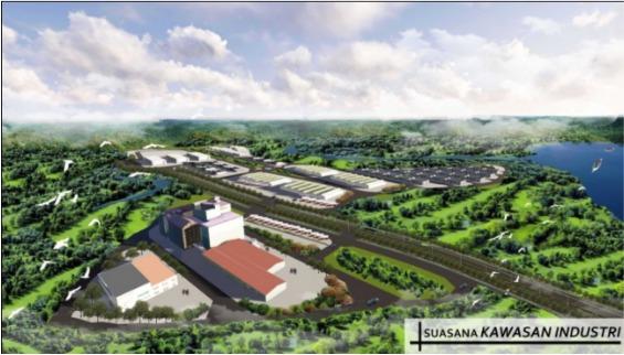 Masterplan Pengembangan Kawasan Industri Buluminung, Gresik, Pantai Lango,