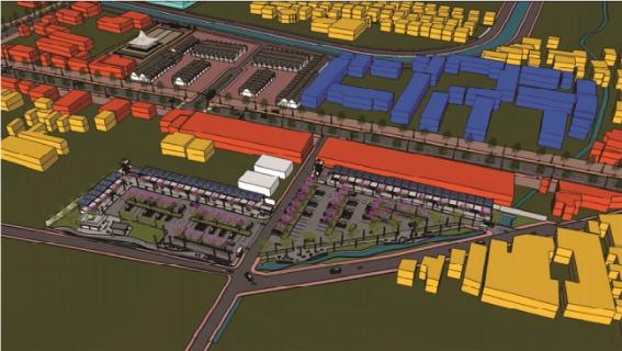 Penyusunan DED dan Desain Kawasan Strategis Nasional Kawasan Seturan Babarsari Kab. Sleman, 2016