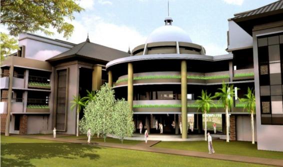 Perencanaan Pembangunan Gedung Fakultas Hukum Universitas Negeri Semarang (UNNES)