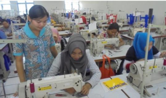 Rekruitmen dan Monitoring Peserta Pelatihan Ketampilan SDM Industri Garmen dan Industri Lainya,