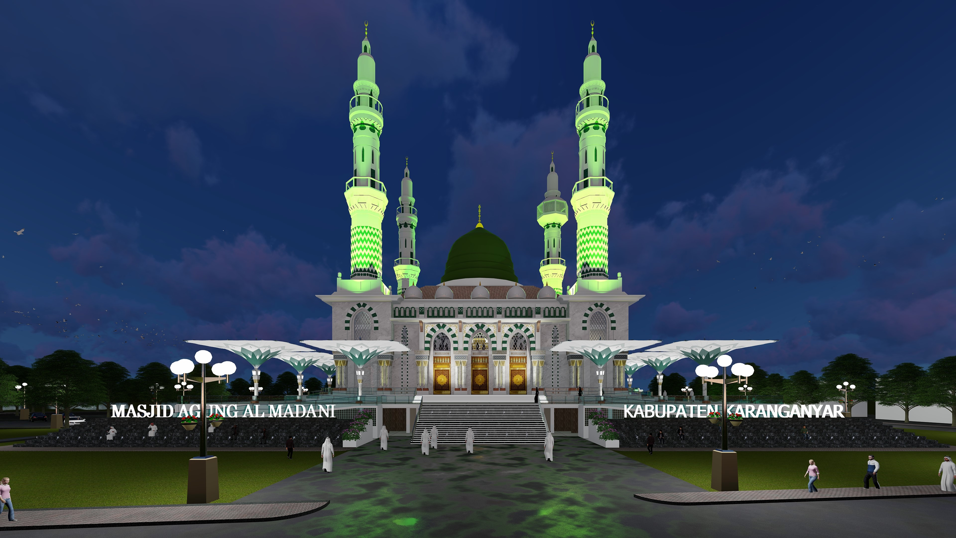2019_DED Masjid Agung Karanganyar